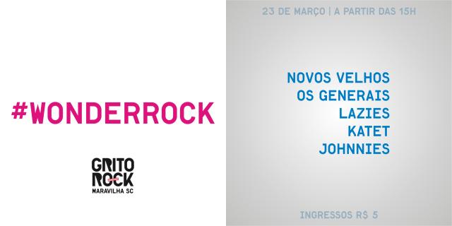 #WonderRock